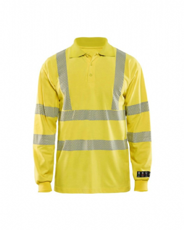 Blaklader 3439 Multinorm Pique Long Sleeves (Yellow)